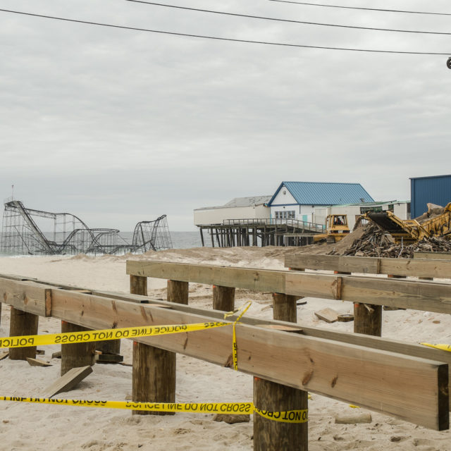 Seaside Heights : Six after Sandy | Street | April 2013 | New Jersey