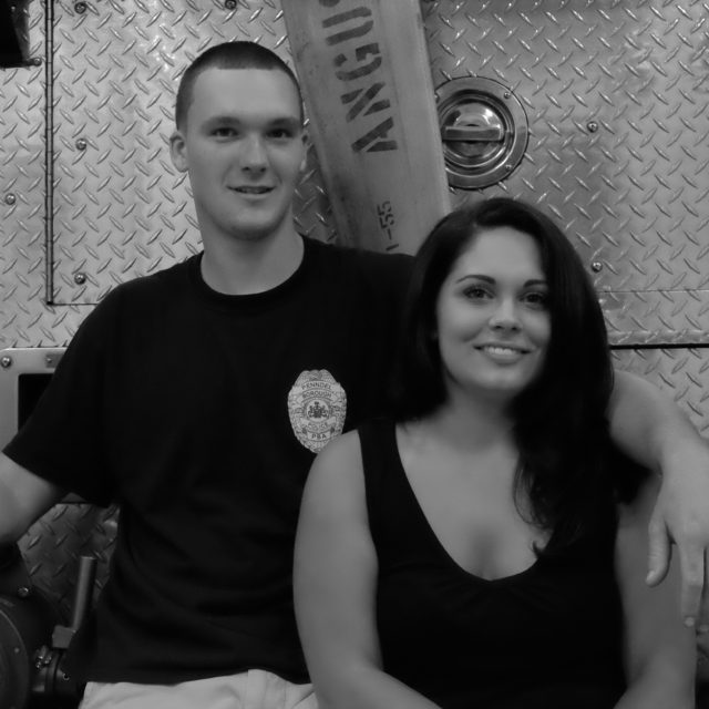 James & Jamies | Save the Date | Fire Station | Bucks County