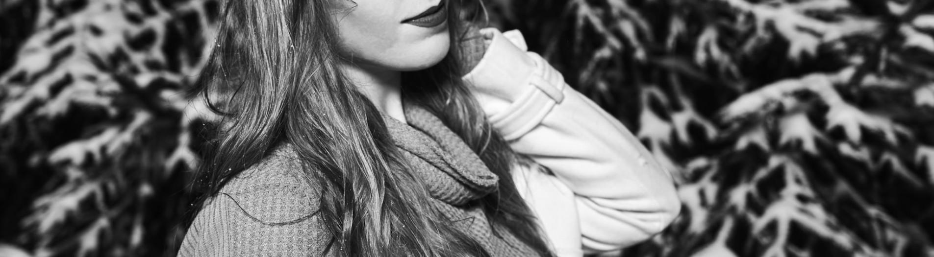 Diana R : Model | Lifestyle Snow Portrait Session | Studio ccojr